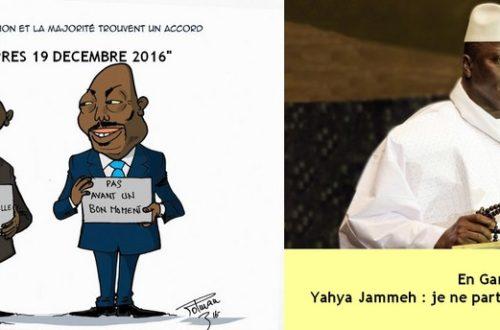 Article : RDC- Gambie : le nombre 19 serait-il maudit pour l'alternance politique en Afrique ?