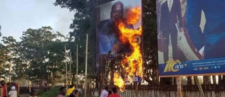 Article : En RDC, aujourd'hui, on brûle des effigies… demain qui brûlera-t-on ?